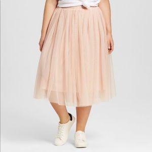 Ballerina-Pink Tulle Skirt💘